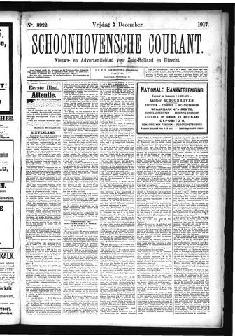 Schoonhovensche Courant 1917-12-07