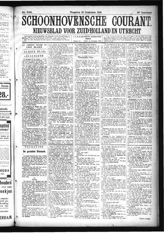Schoonhovensche Courant 1926-08-30