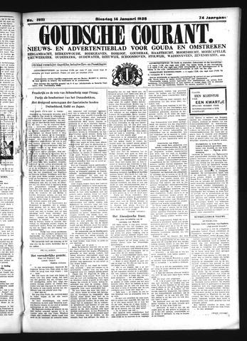 Goudsche Courant 1936-01-14