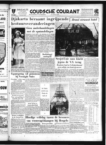 Goudsche Courant 1958-04-22