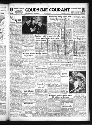 Goudsche Courant 1952-03-05