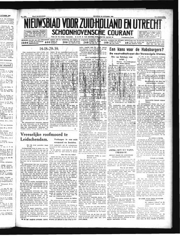 Schoonhovensche Courant 1939-10-30