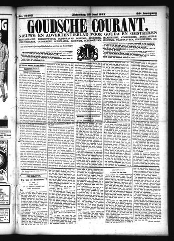 Goudsche Courant 1927-06-25