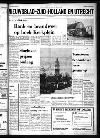Schoonhovensche Courant 1974-02-11