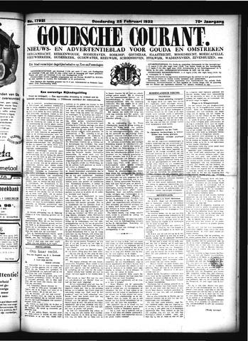 Goudsche Courant 1932-02-25