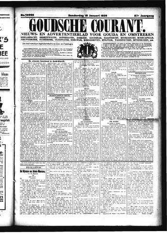Goudsche Courant 1929-01-10