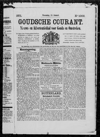 Goudsche Courant 1871-01-25