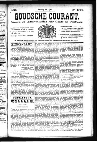 Goudsche Courant 1890-04-14