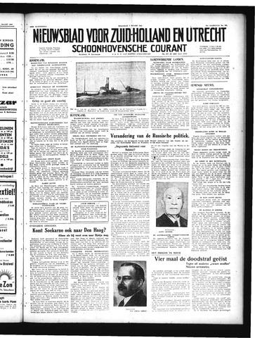 Schoonhovensche Courant 1949-03-07
