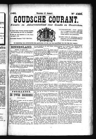 Goudsche Courant 1891-01-12