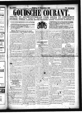Goudsche Courant 1931-11-27