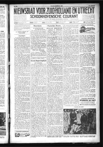 Schoonhovensche Courant 1932-02-12