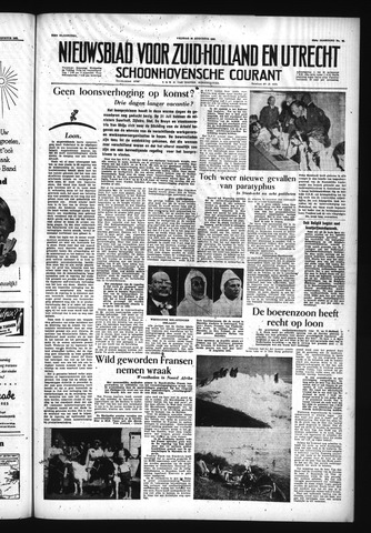 Schoonhovensche Courant 1955-08-26