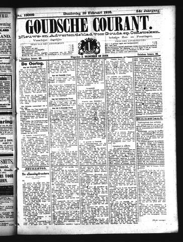 Goudsche Courant 1916-02-10