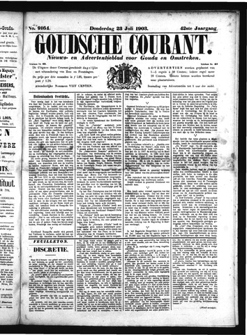 Goudsche Courant 1903-07-23