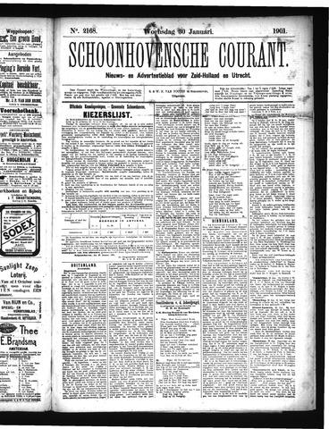 Schoonhovensche Courant 1901-01-30