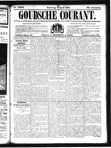 Goudsche Courant 1917-04-07