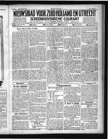 Schoonhovensche Courant 1936-04-06