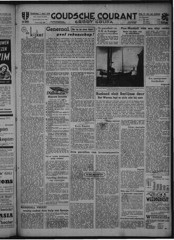 Goudsche Courant 1948-04-01