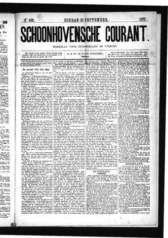 Schoonhovensche Courant 1877-09-23