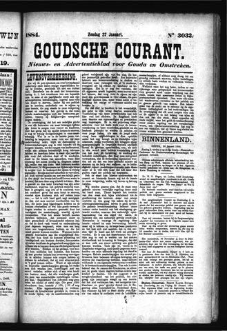 Goudsche Courant 1884-01-27