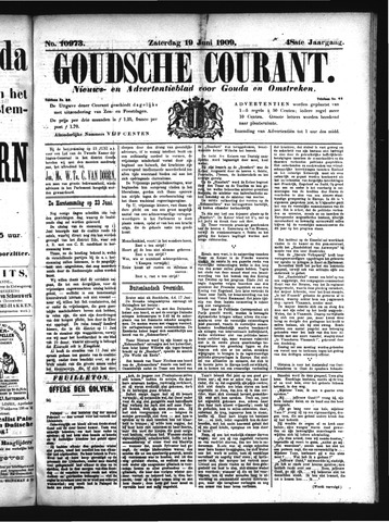 Goudsche Courant 1909-06-19
