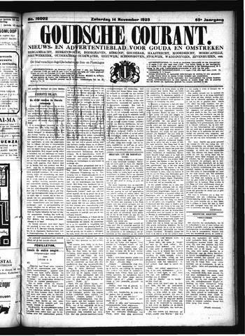 Goudsche Courant 1925-11-14