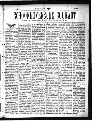 Schoonhovensche Courant 1920-04-26