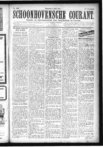 Schoonhovensche Courant 1923-06-04