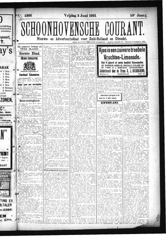 Schoonhovensche Courant 1921-06-03