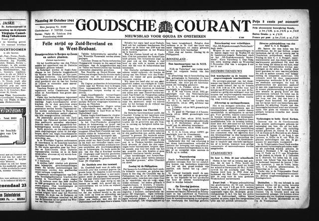 Goudsche Courant 1944-10-30