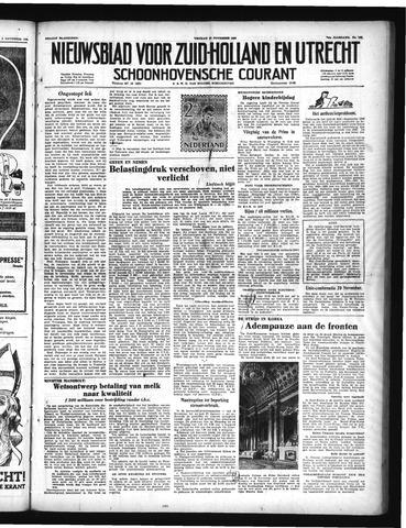 Schoonhovensche Courant 1950-11-10