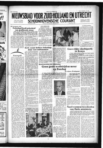 Schoonhovensche Courant 1952-10-24