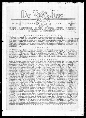 De Vrije Pers 1944-12-07