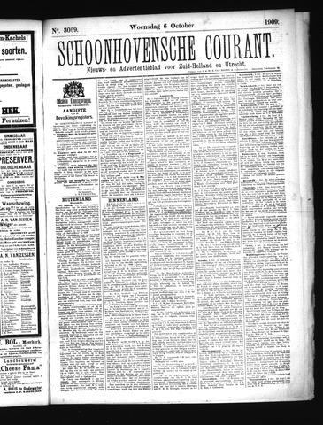 Schoonhovensche Courant 1909-10-06