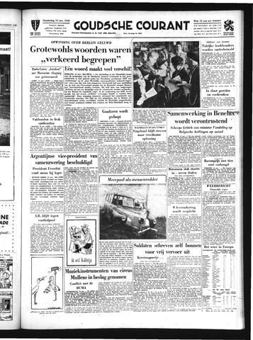 Goudsche Courant 1958-11-13