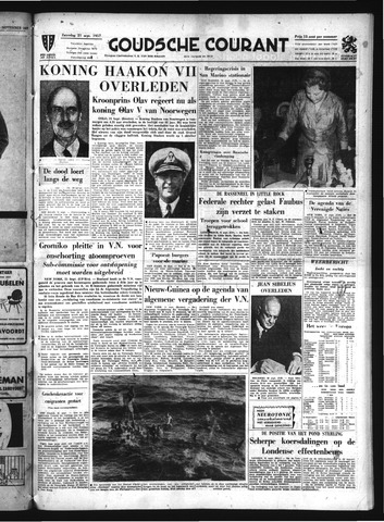 Goudsche Courant 1957-09-21
