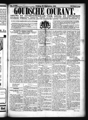 Goudsche Courant 1931-09-25