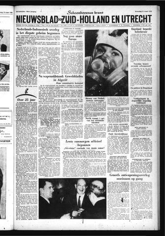 Schoonhovensche Courant 1962-03-21