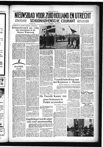 Schoonhovensche Courant 1955-02-25