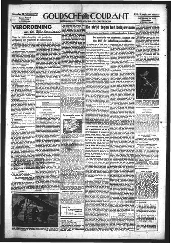 Goudsche Courant 1943-02-22