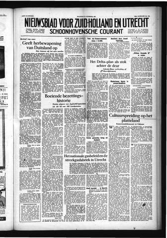 Schoonhovensche Courant 1954-11-22