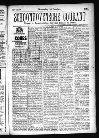 Schoonhovensche Courant 1910-10-26