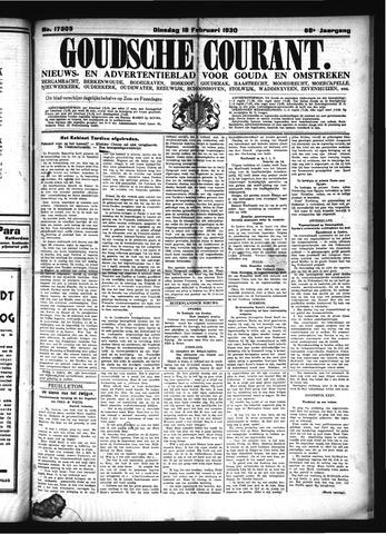 Goudsche Courant 1930-02-18
