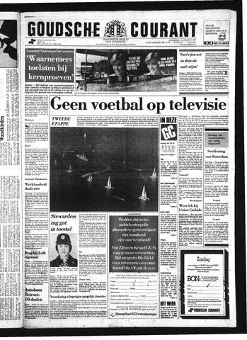 Goudsche Courant 1985-08-14