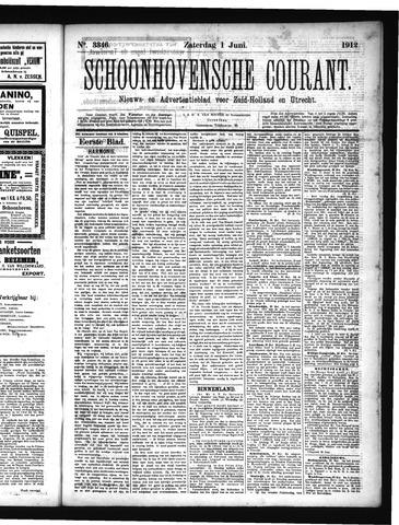 Schoonhovensche Courant 1912-06-01