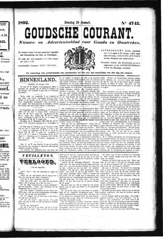 Goudsche Courant 1892-01-26