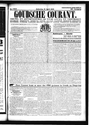 Goudsche Courant 1929-04-13