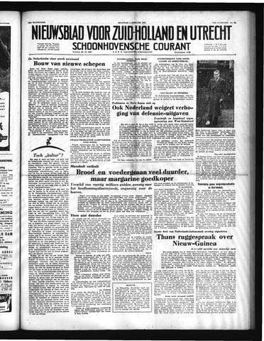 Schoonhovensche Courant 1952-02-04
