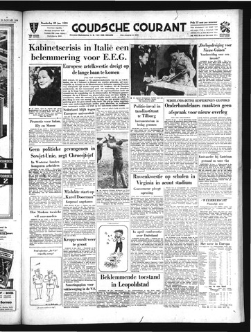 Goudsche Courant 1959-01-29